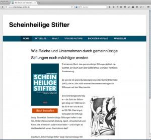 Screenshot Scheinheilige Stifter