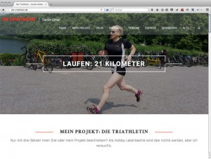 Website die-triathletin.de